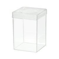 ディッシュボトル 角型(72×72×100mm)穴あき フィルター付き 10本 プラケース 虫かご 観察 飼育容器