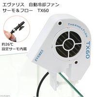 エヴァリス 自動冷却ファン サーモ&フロー TX60