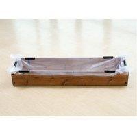 お手軽 池製作キット(W120×D30×H18.5cm) ブラウン