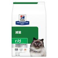【6月中旬~下旬に入荷予定】ヒルズ プリスクリプションダイエット〈猫用〉 r/d 4kg 特別療法食 ドライフード