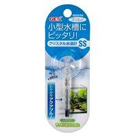 GEX クリスタル水温計 SS アクアブルー ジェックス