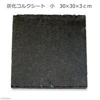 炭化コルクシート 小 30×30×3cm 園芸 素材 爬虫類 レイアウト