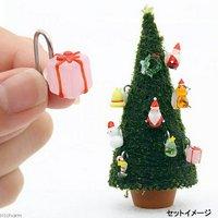 モスツリー用 ガラスオーナメント プレゼント正方形(ピンク) 1個 クリスマス