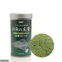 コメット 日本淡水魚用飼料 川魚の主食 野菜フレーク 60g