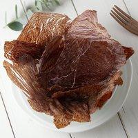 2袋セット 国産 うす~くスライスして焼いた 大自然で育った鹿もも肉のジャーキー 30g×2袋