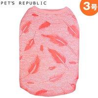 PET'S REPUBLIC 羽柄ノースリーブ 3号 ピンク