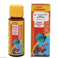 セラ フィッシュタミン 100ml 熱帯魚 淡水・海水用 ビタミン添加