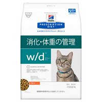 ヒルズ プリスクリプションダイエット〈猫用〉 w/d 4kg 特別療法食 ドライフード