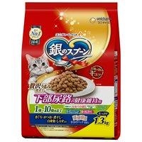 銀のスプーン 下部尿路の健康維持用 1歳~10歳頃まで まぐろかつお煮干し白身魚しらす入り 1.3kg×6袋
