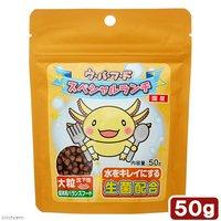 日本動物薬品 ニチドウ ウーパーフード スペシャルランチ 大粒 50g