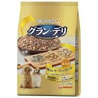 グランデリ カリカリ仕立て 成犬用 味わいチーズ入り セレクト  1.6kg(400g×4袋)