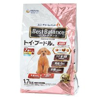 ベストバランス ふっくら仕立て トイ・プードル用 7歳が近づく頃から始める低脂肪 1.7kg(284g×6袋)