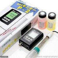 PHモニター P-2 熱帯魚飼育等の水質検査に pH計  pH測定器 pHメーター ペーハー測定器 水質測定器