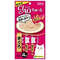 いなば CIAO(チャオ) ちゅ~る まぐろ 14g×4本 猫 おやつ いなば CIAO チャオ ちゅーる