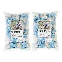 昆虫ゼリー プロゼリー(16g 100個入り)×2袋セット カブトムシクワガタ用 高タンパク!硬め仕上げ!ブリードに最適!