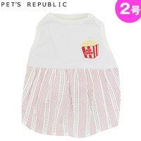 PET'S REPUBLIC POPワンピース 2号 レッド