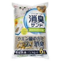 アイリスオーヤマ システム猫トイレ用におわない消臭サンド香り付き 6L TIA-6CK