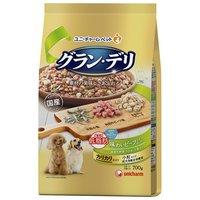 グランデリ カリカリ仕立て 成犬用 低脂肪 味わいビーフ入りセレクト ~脂肪分約25%カット~ 700g(350g×2袋)