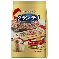 グランデリ カリカリ仕立て 成犬用 味わいビーフ入り セレクト  700g(350g×2袋)