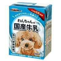 ドギーマン わんちゃんの国産牛乳 200ml 離乳後~成犬高齢犬用 犬 ミルク 2個入り