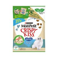 モンプチ クリスピーキッス グレインフリー 厳選白身魚 72g 猫 おやつ モンプチ