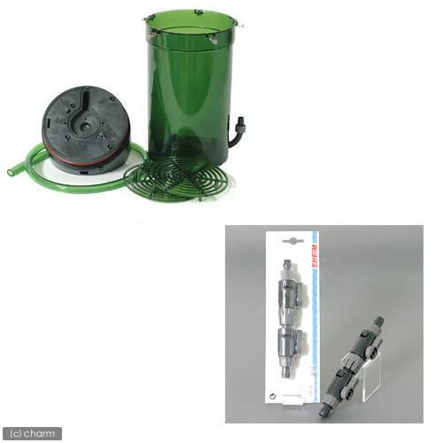 エーハイム サブフィルター 2215 + ダブルタップ 直径12/16 1本セット メーカー保証期間1年 沖縄別途送料