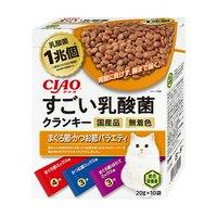 CIAO すごい乳酸菌クランキー まぐろ節かつお節バラエティ 20g×10袋