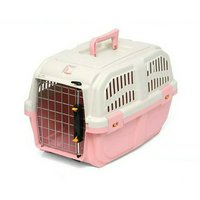 ドギーマン イタリア製ハードキャリー DOGGY EXPRESS S ピンク 犬 猫用キャリーバッグ (5kgまで)