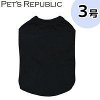 PET'S REPUBLIC スタンダードTシャツ 3号 ブラック