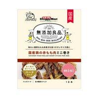 ドギーマン 無添加良品 国産鶏の赤もも肉ミニ巻き 18本