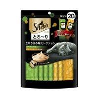 シーバ とろ~り メルティ とりささみ味セレクション 12g×20P キャットフード