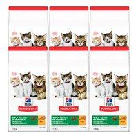 ヒルズ サイエンスダイエット キャットフード キトン 12ヶ月まで 子猫用 チキン 1.8kg 健康的な発育をサポート×6袋