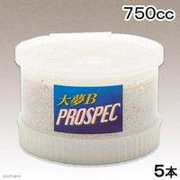菌糸ビン 大夢B プロスペック (オオヒラタケ) CONEX 750cc 5本 菌糸ビン