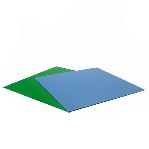 RG−30水槽用 丈夫な塩ビ製バックスクリーン 28.3×27.5cm 水色 ライトブルー