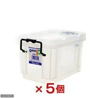 QBOX-10 mini (230×135×125mm)5個 クワガタ カブトムシ 飼育ケース コンテナ 飼育 ブリード