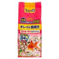 テトラ 金魚 ラクラクお手入れ砂利 ピンクミックス 1kg