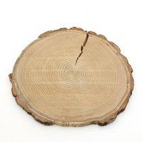 国産 天然素材の切り株ステージ うすい くりの木 1個 かじっても安心 かじり木