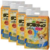 ダブルストップ 小型犬用 フレッシュフローラルの香り レギュラー 112枚 4袋入り