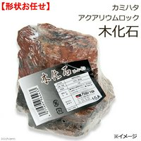 カミハタ アクアリウムロック 木化石 形状お任せ