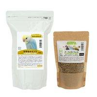 セキセイインコの総合栄養食セット デイリーアップフード ヘルスサポートとパーフェクトペレットM