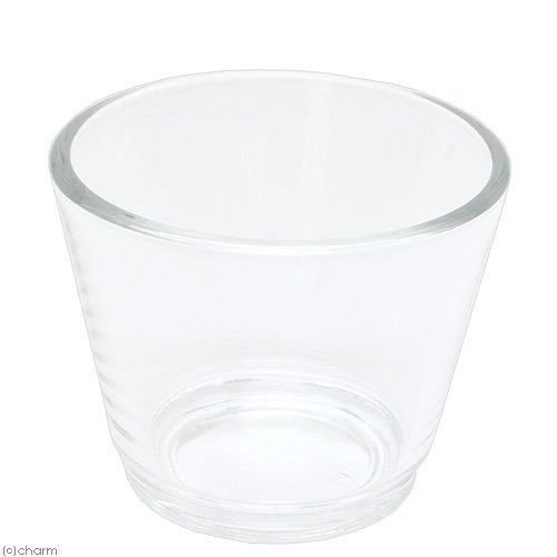 ガラスベース 7.5cm クリアガラス
