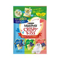 モンプチ クリスピーキッス バラエティーパック 贅沢シリーズ 180g(小袋6g×30袋)×12袋