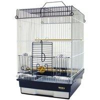 HOEI 35手のりPS ホワイトネイビー(370×415×545) 鳥 ケージ 鳥かご