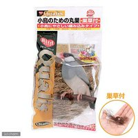 クオリス 小鳥のための丸巣巣草付き 鳥 巣箱巣材 つぼ巣