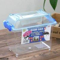 三晃商会 SANKO CLEAN CASE クリーンケース(SS)(185×110×150mm) プラケース 虫かご 飼育容器