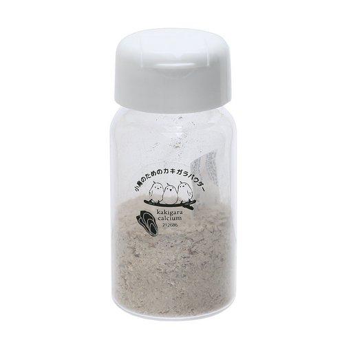 小鳥のためのカキガラパウダー ノーマル 45g 小動物用 ボレー粉 鳥 インコ サプリメント