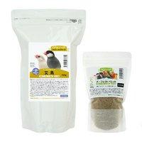 文鳥の総合栄養食セット デイリーアップフード ヘルスサポートとパーフェクトペレットS