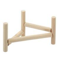 三晃商会 SANKO 小鳥のホップ ステップ パーチ 小鳥用 木製 スタンドパーチ 止まり木