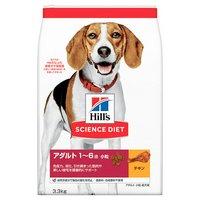 サイエンスダイエット アダルト 小粒 成犬用 3.3kg 正規品