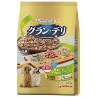 グランデリ カリカリ仕立て 成犬用 低脂肪 味わいビーフ入りセレクト ~脂肪分約25%カット~ 1.6kg(400g×4袋)